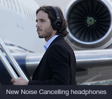 The first Wireless and Digital Noise Cancelling headphones from Sony