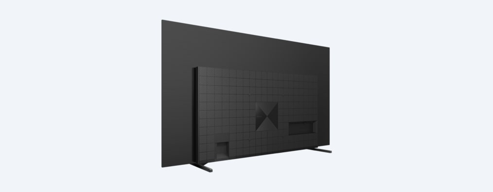 A80J BRAVIA XR TV rear angled shot