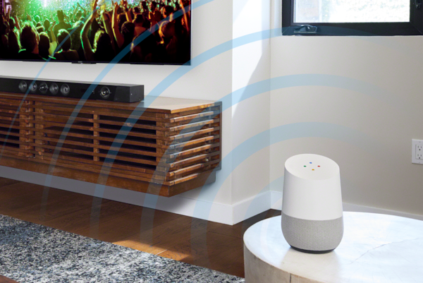 Works with your Google Assistant
