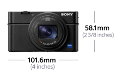Picture of RX100 VI - broad zoom range and super-fast AF