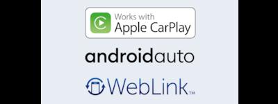 Apple Carplay, Android Auto and weblink™