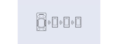Illustration of multi-device connection