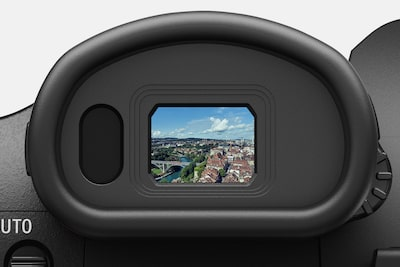 High-resolution OLED viewfinder