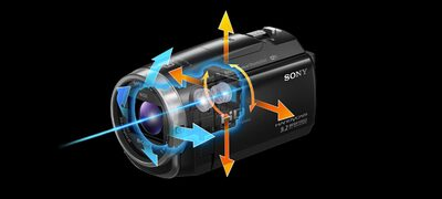 Picture of CX625 Handycam® with Exmor R™ CMOS sensor