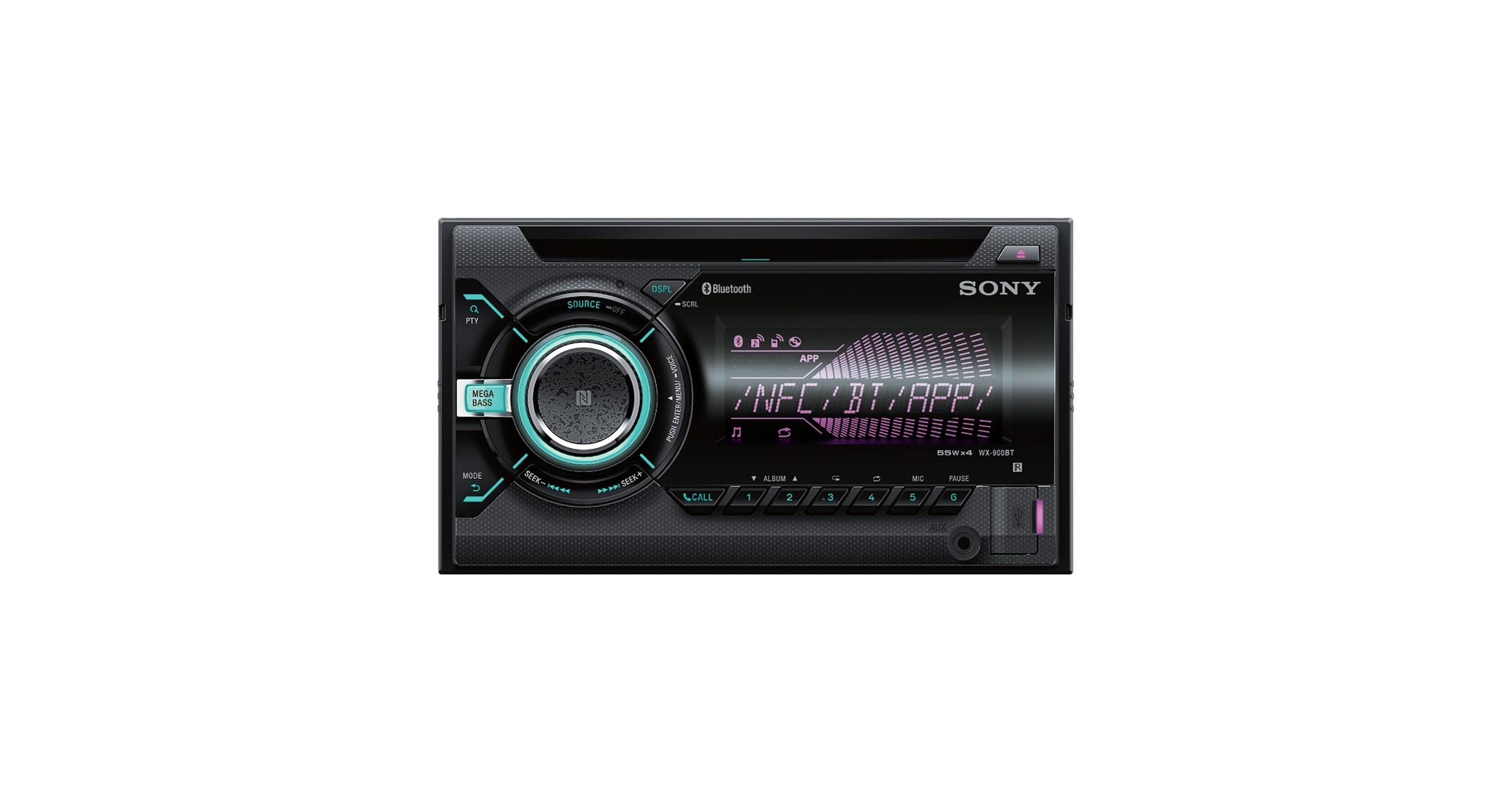 Cd Receiver With Bluetooth Wireless Technology Wx 900bt Sony Au Car Audio Manual