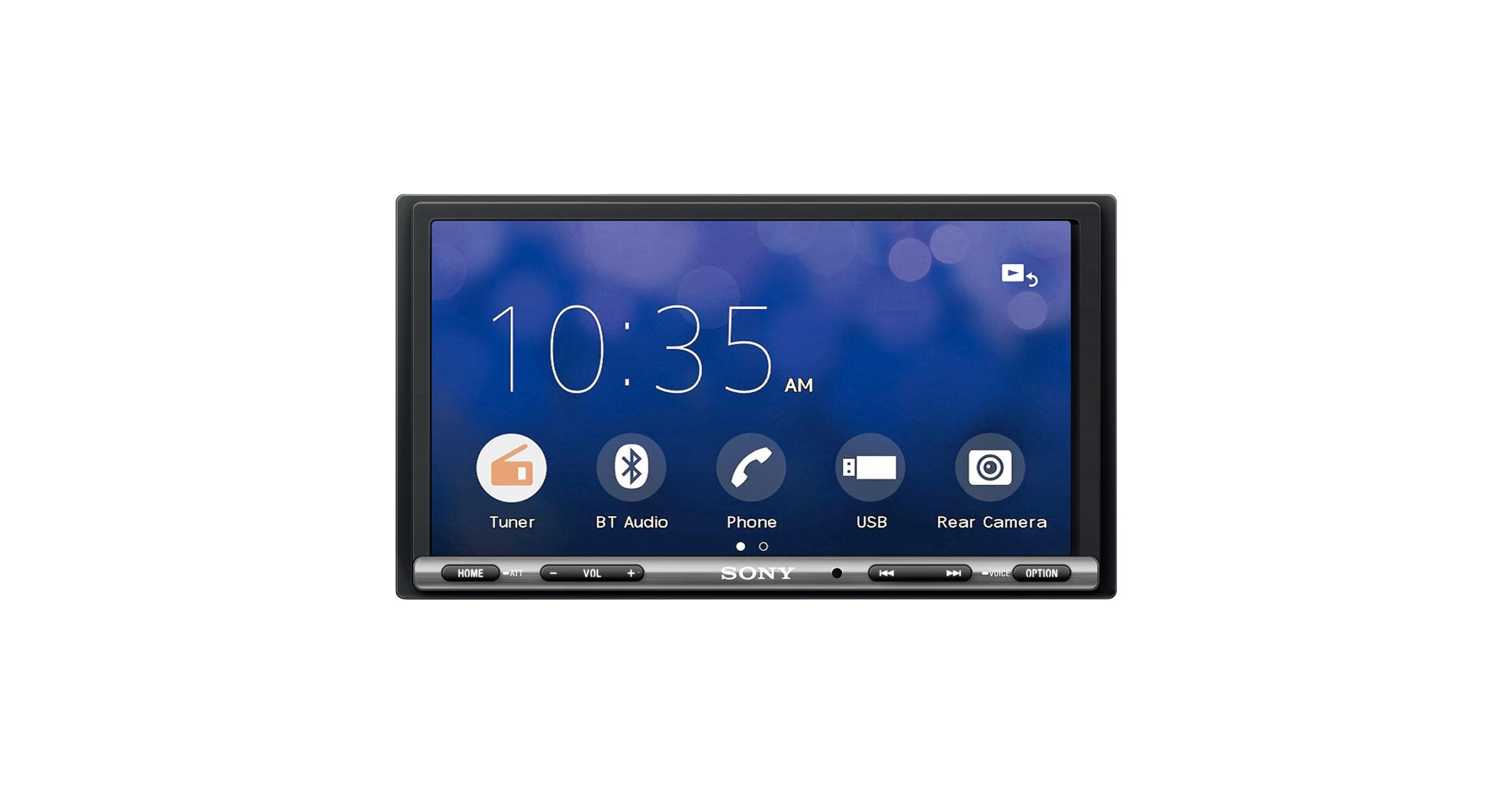 Xav Ax3000 Car Stereo Apple Carplay Android Auto Sony Au Wiring Diagram Pinterest