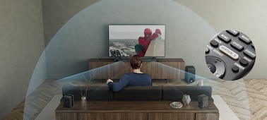 Picture of 5.1ch Dolby Atmos® / DTS:X™ Soundbar with Wi-Fi/Bluetooth technology | HT-Z9RF