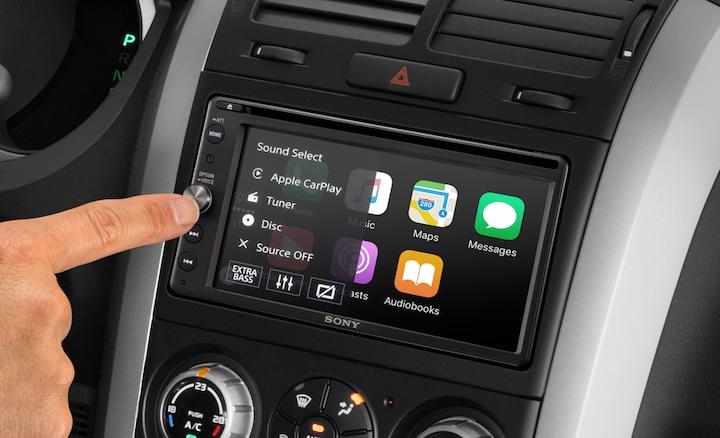 sony xav ax205db apple car play android auto dab dvd car. Black Bedroom Furniture Sets. Home Design Ideas