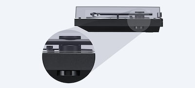 Picture of Turntable with BLUETOOTH® connectivity