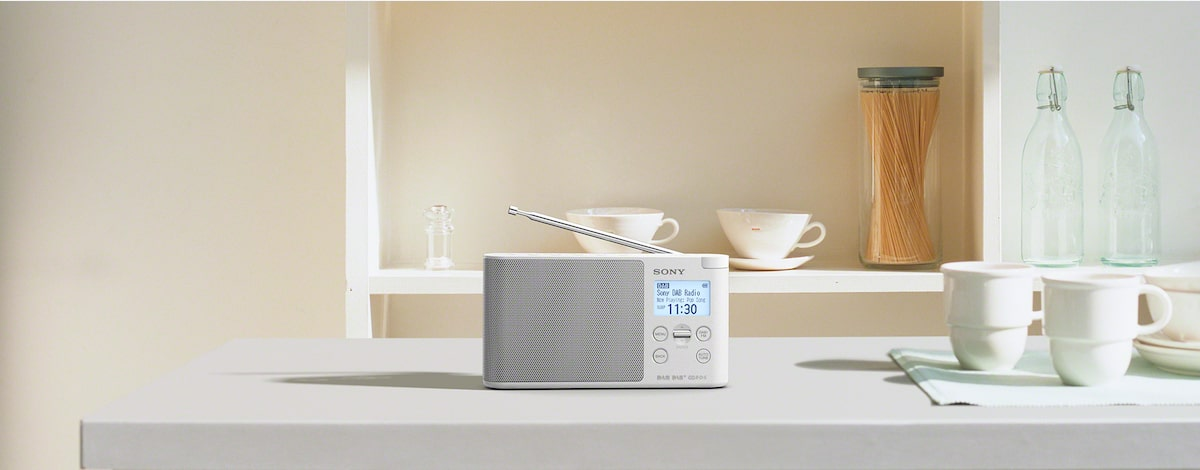 Portable DAB/DAB+ Radio | XDR-S41D | Sony AU