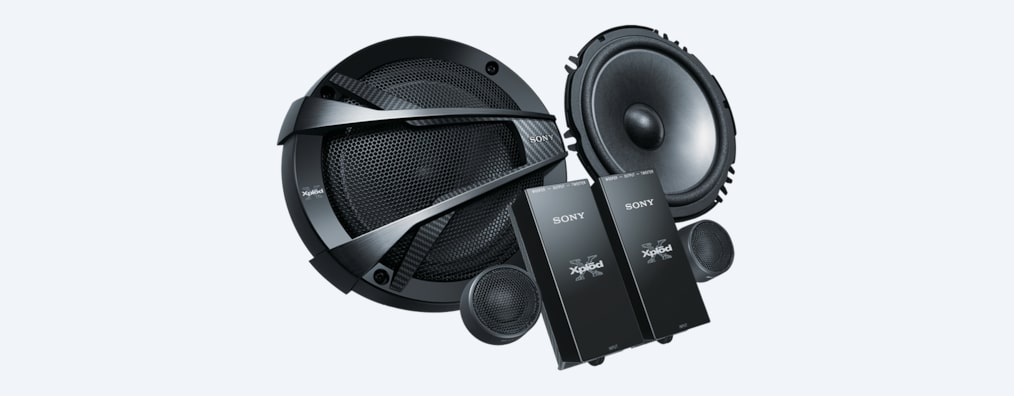 "Images of 16cm (6.3"") 2-Way Component Speakers"