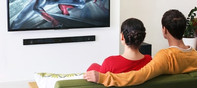 2.1 channel system brings out the best in your movies