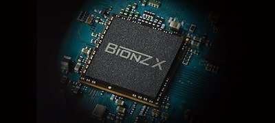 BIONZ X for superior detail and texture
