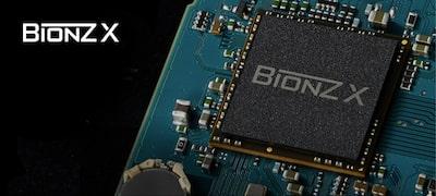 BIONZ X image processing engine upgraded