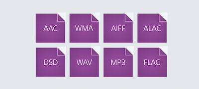 Compatible formats