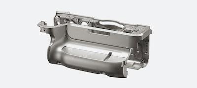 Highly rigid magnesium for exterior