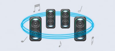 Wireless Party Chain via Bluetooth connectivity