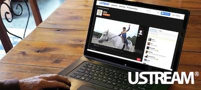 Live Streaming via Ustream