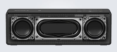 Dual passive radiators for great bass sound from a compact size