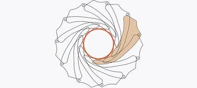 11 blades for natural bokeh highlights