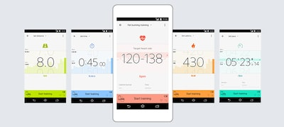 Plan - Use the app to select a training menu