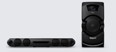 2.1ch speaker system for powerful sound