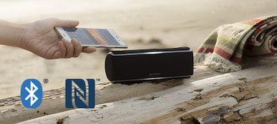 Wireless with BLUETOOTH technology and NFC