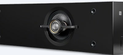 Coaxial speakers for full-range sound