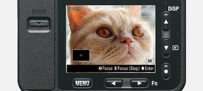 Preset Focus for simpler movie shooting