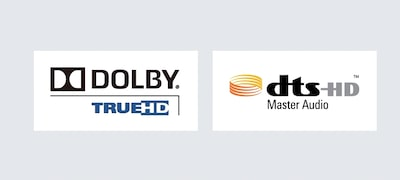 Dolby TrueHD and DTS-HD Master Audio