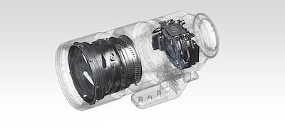 Fast AF optimized for stills and video