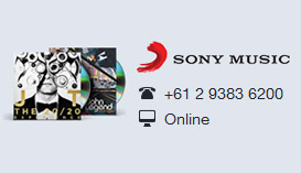 Sony Music contact
